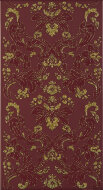 Декор Iris Ducale Damasco Oro Bordo 25x46