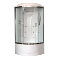 Душевая кабина Royal Bath RB 90BK2 хром
