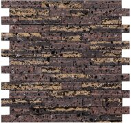 Мозаика L'Antic Colonial Elite Lava Stone Brick Gold (2,5x4,8) 30,3x32x1,4