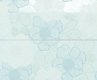 Декор Milady Bloom Water Green 50x60